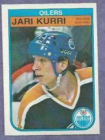 1982 83 O Pee Chee OPC Jari Kurri Edmonton Oilers # 111