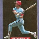 1993 Sprectrum Gold Mike Schmidt Philidelphia Phillies # 3 #D 622/5000 Oddball