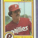 1984 Nestle Topps Mike Schmidt Philidelphia Phillies Oddball # 14