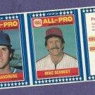 1987 Burger King Ryne Sandberg Mike Schmidt Cubs Phillies Oddball # 17 18