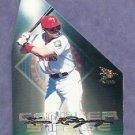 2000 Pacific Prism Center Stage Die Cuts Ivan Rodriguez Texas Rangers # 20