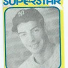 Oddball Joe Dimaggio Superstar Baseball Card New York Yankees # 36