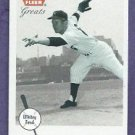 2002 Fleer Greats Whitey Ford New York Yankees # 27