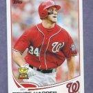 2013 Topps Baseball Bryce Harper Washington Nationals # 1