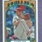 2013 Topps Baseball 72 Mini Cliff Lee Philidelphia Phillies # TM-33 Insert