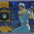 2013 Topps Baseball Chasing History Robin Yount Milwaukee Brewers # CH-34 Insert