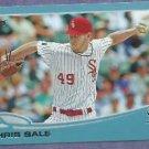 2013 Topps Baseball Walmart Blue Chris Sale Chicago White Sox # 49