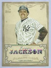 2013 Topps Calling Card Reggie Jackson New York Yankees # CC-11 Insert