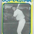 1980 Mickey Mantle Superstar Card New York Yankees # 31 Oddball