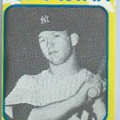 1980 Mickey Mantle Superstar Card New York Yankees # 32 Oddball