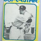 1980 Mickey Mantle Superstar Card New York Yankees # 33 Oddball