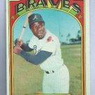 1972 Topps Hank Aaron Atlanta Braves # 299
