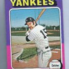 1975 Topps Mini Thurman Munson New York Yankees # 20 NICE