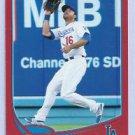 2013 Topps Baseball Targer Red Andre Ethier Los Angeles Dodgers # 16