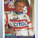 1994 Maxx Nascar Series 1 Morgan Shepherd # 21 Citgo
