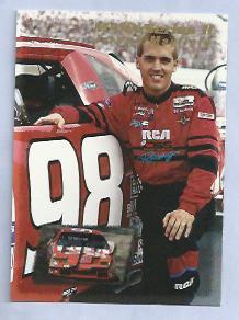 1995 Maxx Nascar Series 2 Jeremy Mayfield # 190