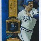 2013 Topps Baseball Chasing History George Brett Kansas City Royals # CH-23 GOLD FOIL VARIATION