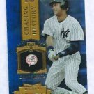 2013 Topps Baseball Chasing History Derek Jeter New York Yankees # CH-37 GOLD FOIL VARIATION
