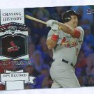 2013 Topps Baseball Chasing History Lance Berkman St Louis Cardinals # CH-16 SILVER Foil Variation
