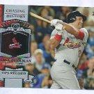 2013 Topps Baseball Chasing History Lance Berkman St Louis Cardinals # CH-16