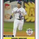2006 Topps Update David Wright All Star New York Mets # UH232