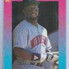 1989 Classic Kirby Puckett Minnesota Twins # 15 Oddball