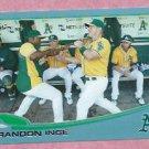 2013 Topps Baseball Wal Mart Blue Brandon Inge Oakland A's # 76