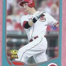 2013 Topps Baseball Wal Mart Blue Todd Frazier Cincinnati Reds # 70 Rookie