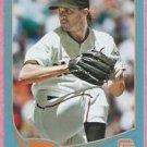 2013 Topps Baseball Wal Mart Blue Barry Zito San Francisco Giants # 75