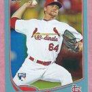 2013 Topps Baseball Wal Mart Blue Trevor Rosenthal St Louis Cardinals # 261 Rookie