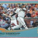 2013 Topps Baseball Wal Mart Blue Pablo Sandoval WS Game 1 San Francisco Giants # 298