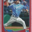2013 Topps Baseball Target Red Aaron Crow Kansas City Royals # 243