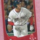 2013 Topps Baseball Target Red Daniel Nava Boston Red Sox # 66