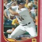 2013 Topps Baseball Target Red Gaby Sanchez Pittsburgh Pirates # 98