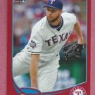 2013 Topps Baseball Target Red Scott Feldman Texas Rangers # 39