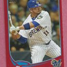 2013 Topps Baseball Target Red Alex Gonzalez Milwaukee Brewers # 322
