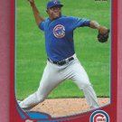 2013 Topps Baseball Target Red Rafael Dolis Chicago Cubs # 280