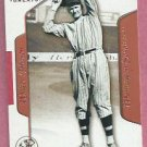 2003 Fleer Flair Greats Walter Johnson Washington Senators # 75