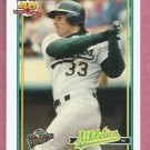 2004 Topps All Time Fan Favorites Jose Canseco Oakland A's # 91