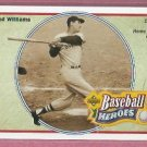 1992 Upper Deck Baseball Heroes Ted Williams Boston Red Sox # 34