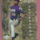 2001 Upper Deck Black Diamond Rookie Treasures Geraldo Guzman Arizona Diamondbacks # 113 /500
