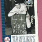 2000 Upper Deck Yankee Legends Joe Dimaggio # 4