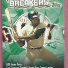 2003 Topps Record Breakers Willie Mays San Francisco Giants # RB-WM