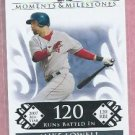 2008 Topps Moments & Milestones Mike Lowell Boston Red Sox # 102   78/150