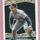 1993 Topps Black Gold Carlos Baerga Cleveland Indians # 25