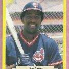 1987 Classic Games Yellow Joe Carter Cleveland Indians # 127