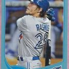 2013 Topps Baseball Wal Mart Blue Colby Rasmus Toronto Blue Jays # 68