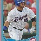 2013 Topps Baseball Wal Mart Blue Mitch Moreland Texas Rangers # 18