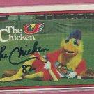 1982 Donruss The Famous San Diego Chicken Autograph # 531
