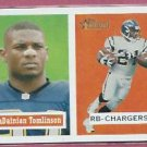 2002 Topps Heritage Ledainian Tomlinson San Diego Chargers # 80